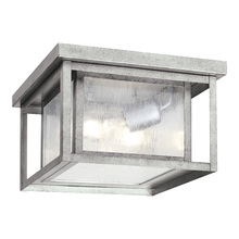 Sea Gull 78027-57 - Two Light Outdoor Ceiling Flush Mount