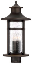 Minka-Lavery 72556-143C - 3 Light Outdoor Post Light