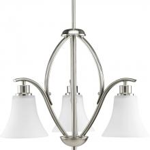 Progress P4489-09 - 3-Lt. Brushed Nickel Bath Light