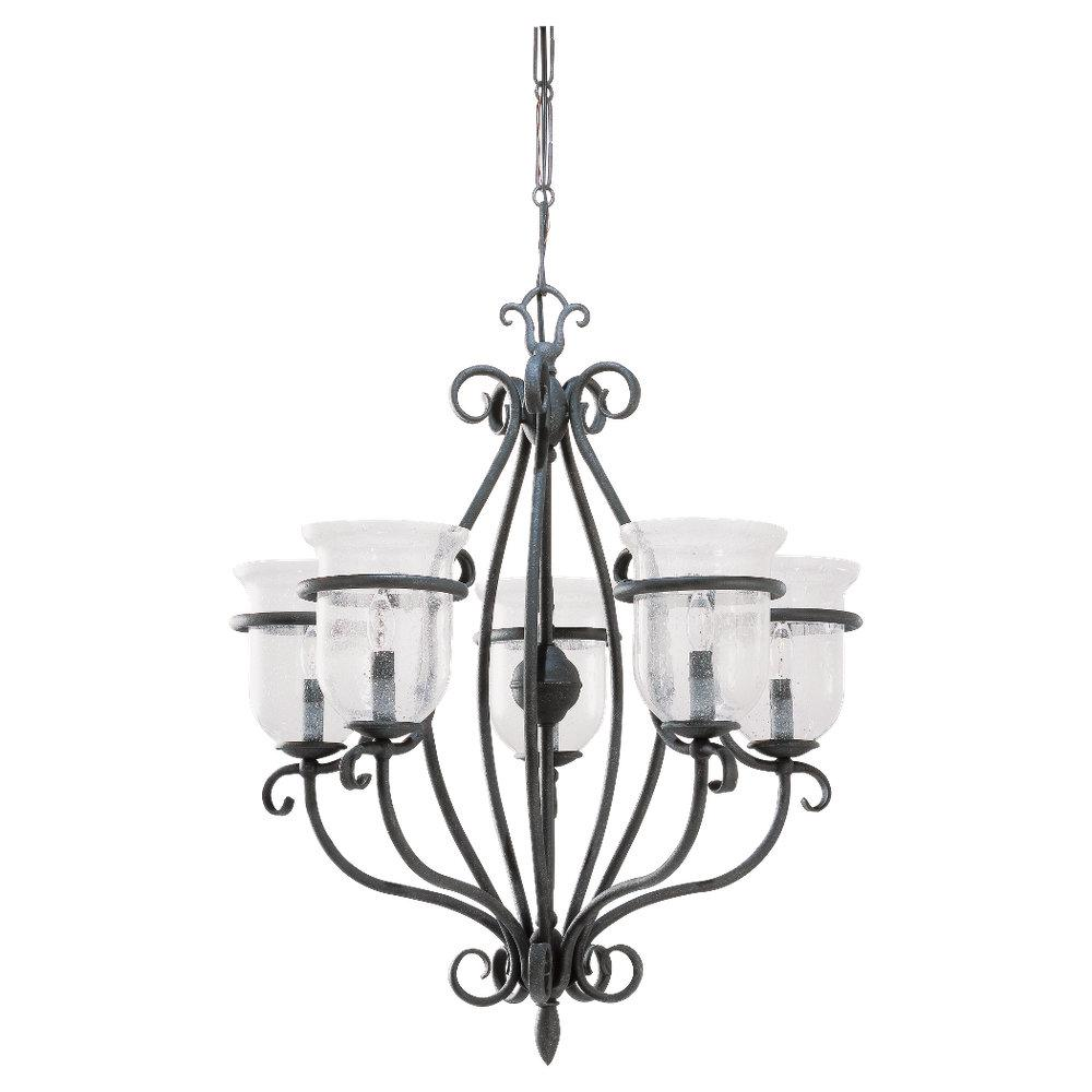 Five-Light Manor House Chandelier