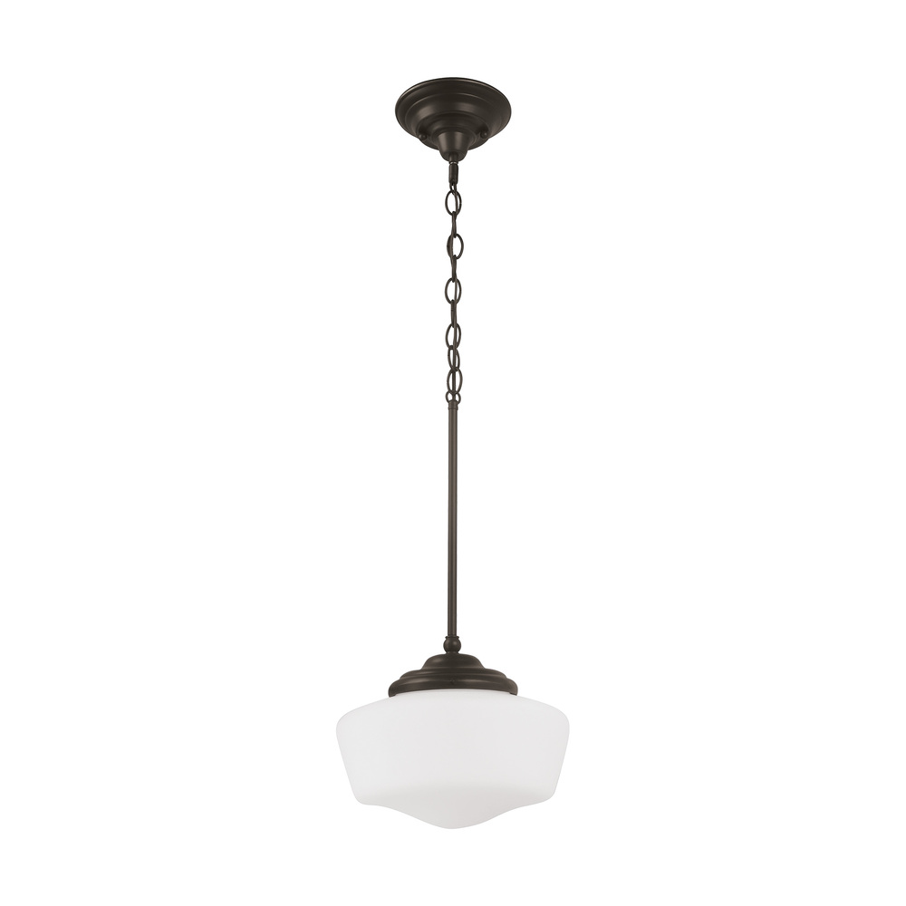Large One Light Pendant
