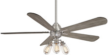"Minka-Aire F852L-BN - Alva (LED) 56"" - Brushed Nickel"