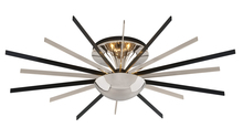 Troy C4802 - ATOMIC 8LT CEILING SEMI-FLUSH SMALL