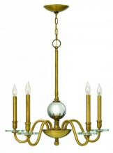 Hinkley 4205HB - CHANDELIER EVERLY