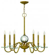 Hinkley 4206HB - CHANDELIER EVERLY